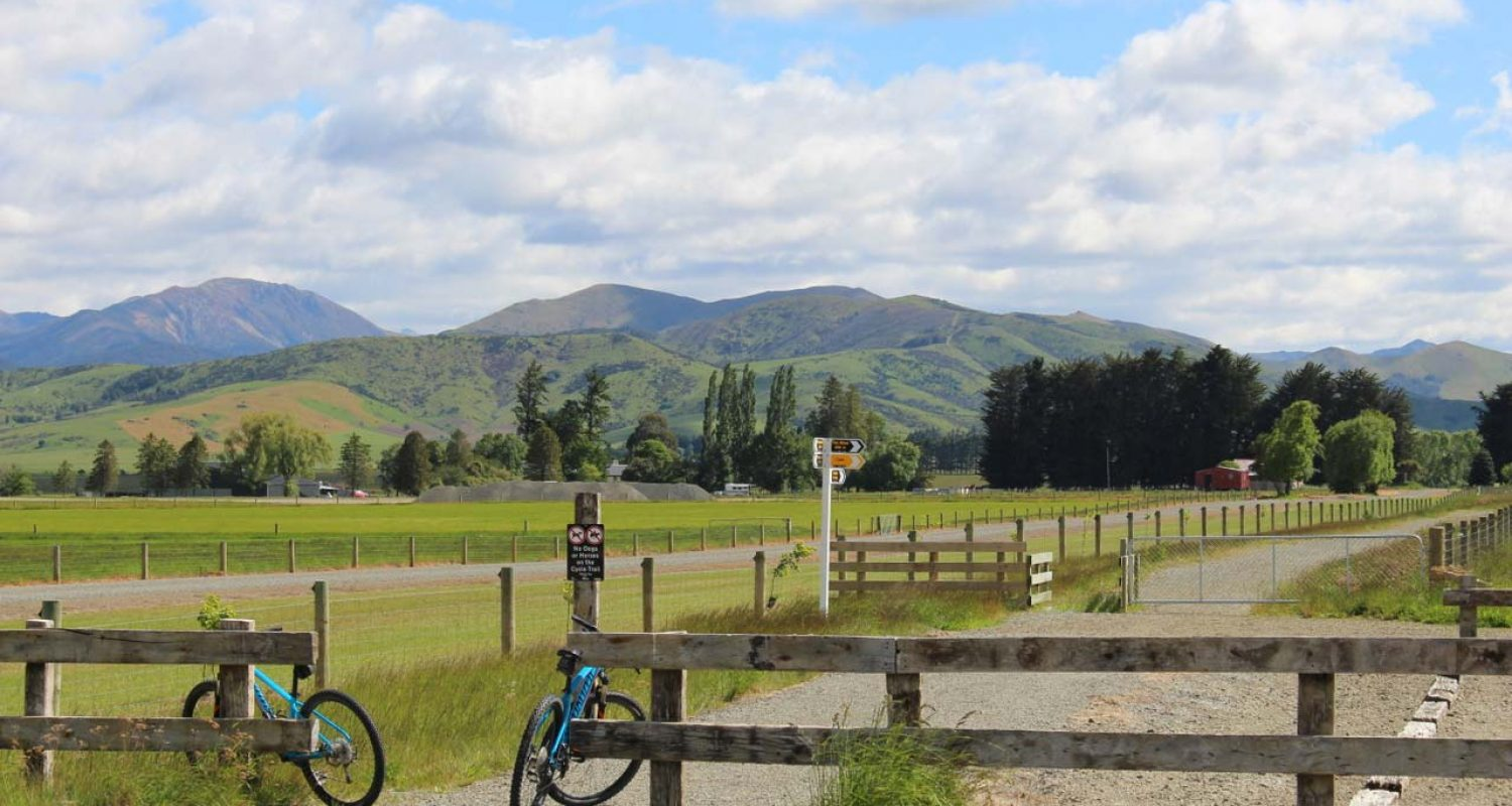 Around The Mountains Cycle Trail - Southland, New Zealand - Credit Great South
